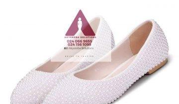 Bridal flat shoe
