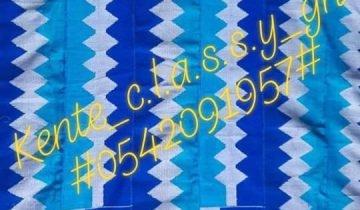 Kente Designs from Bonwire and Kumasi